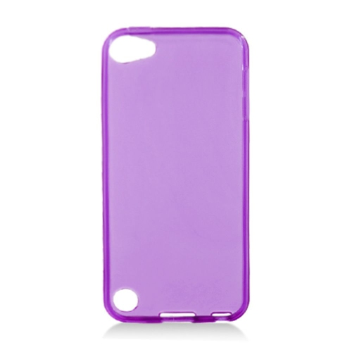 Insten Gel Transparent Cover Case For Apple iPod Touch 5th Gen, Purple