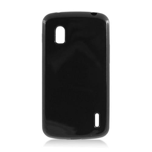 Insten Gel Cover Case For LG Google Nexus 4 E960, Black