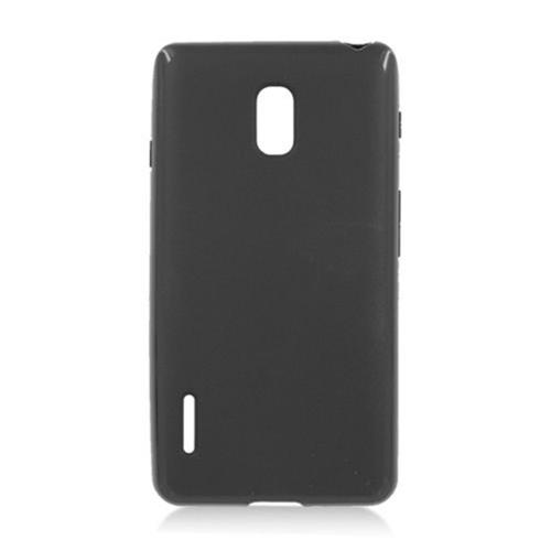 Insten Gel Case For LG Optimus F7 US780 (US Cellular), Black