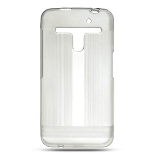 Insten Hard Rubber Case For LG Esteem/Revolution, Clear