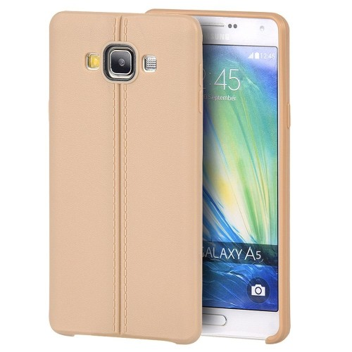 Insten TPU Cover Case For Samsung Galaxy A5 (2015), Gold