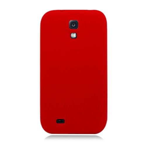 Insten Soft Rubber Case For Samsung Galaxy S4, Red