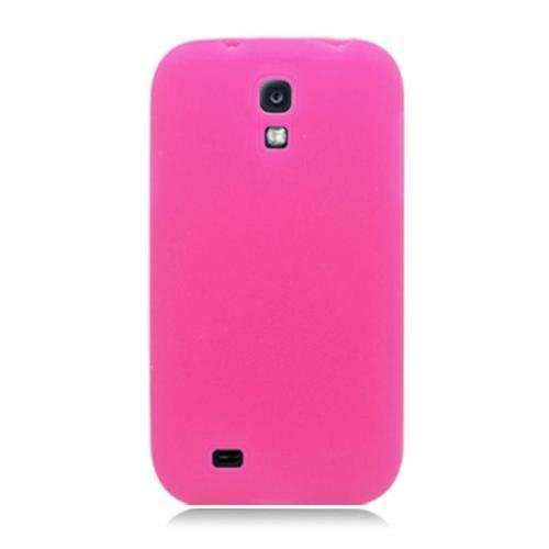 Insten Gel Rubber Case For Samsung Galaxy S4, Hot Pink