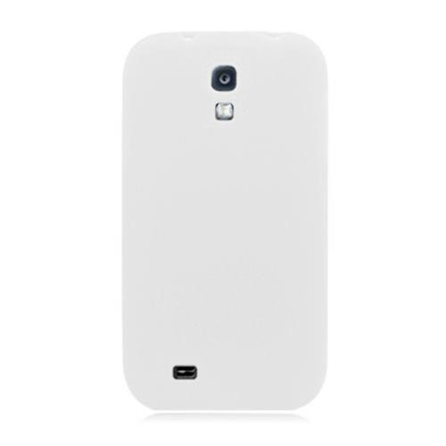 Insten Silicone Rubber Cover Case For Samsung Galaxy S4, White