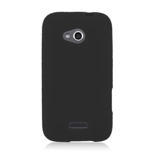 Insten Skin Rubber Case For Samsung Galaxy Victory 4G LTE, Black