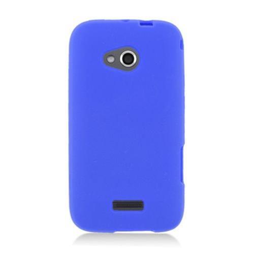 Insten Rubber Case For Samsung Galaxy Victory 4G LTE, Blue