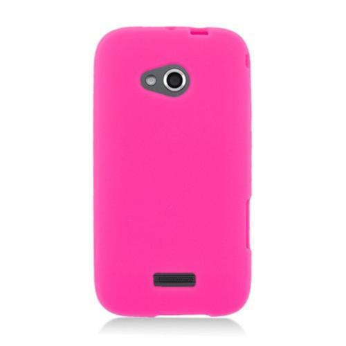 Insten Rubber Cover Case For Samsung Galaxy Victory 4G LTE, Hot Pink