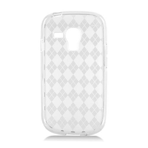 Insten Checker TPU Cover Case For Samsung Galaxy S3 Mini, Clear