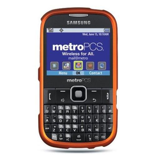 Insten Hard Case For Samsung Freeform III R380, Orange