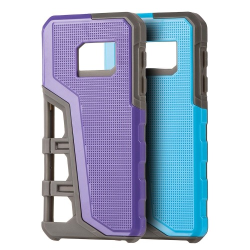 Insten Hard Hybrid TPU Cover Case For Samsung Galaxy S7, Blue/Gray
