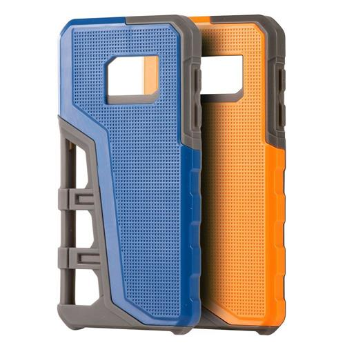Insten Hard Hybrid TPU Case For Samsung Galaxy S7, Blue/Gray