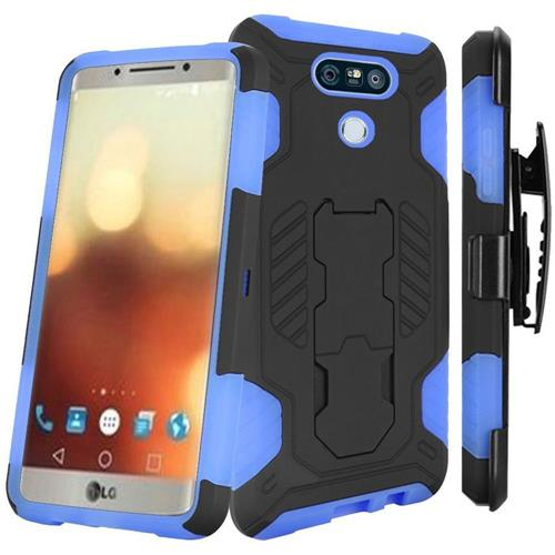 Insten Fitted Soft Shell Case for LG G6 - Black;Blue