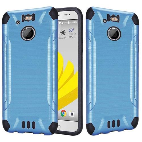 Insten Fitted Soft Shell Case for HTC 10 - Blue