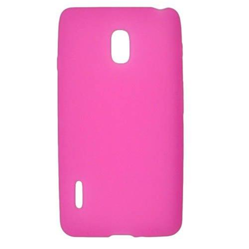Insten Rubber Cover Case For LG Optimus F7 US780 (US Cellular), Hot Pink