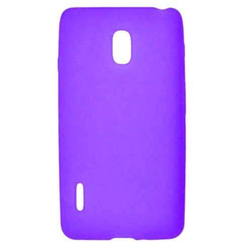 Insten Rubber Cover Case For LG Optimus F7 US780 (US Cellular), Purple