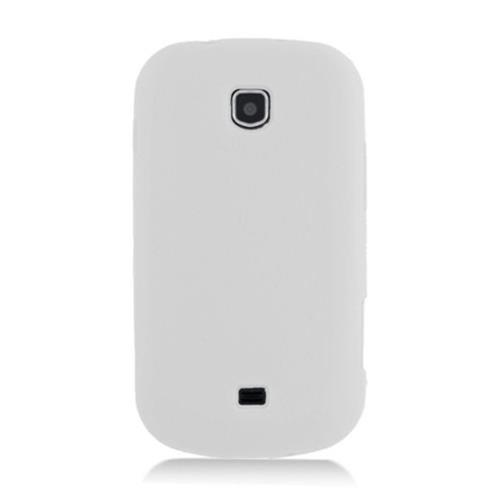 Insten Skin Rubber Cover Case For Samsung Galaxy Stellar 4G I200, White