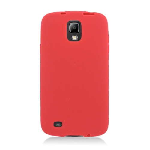 Insten Skin Rubber Case For Samsung Galaxy S4 Active, Red