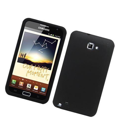 Insten Gel Rubber Case For Samsung Galaxy Note LTE, Black