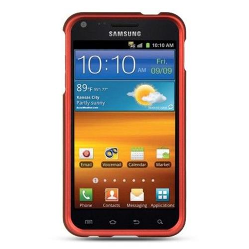 Insten Hard Rubber Cover Case For Samsung Galaxy S2 Epic 4G Touch D710, Orange