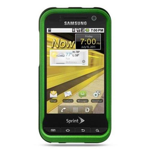 Insten Hard Rubber Coated Case For Samsung Conquer 4G, Green
