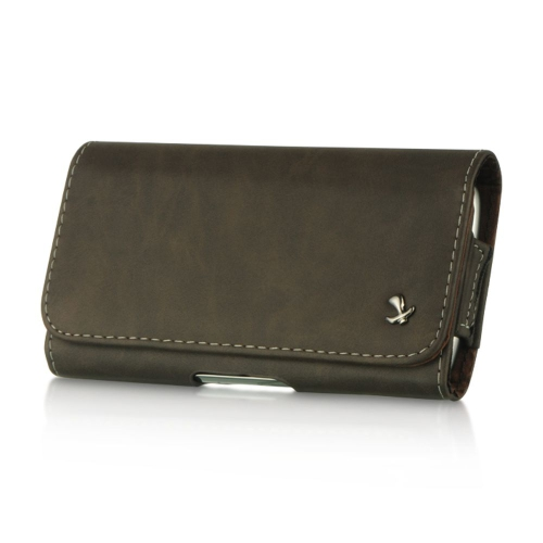 Insten Flip Leather Fabric Case For HTC One M7, Black