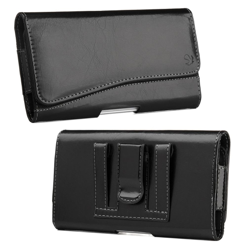 Insten Book-Style Leather Fabric Case For HTC One M7, Black