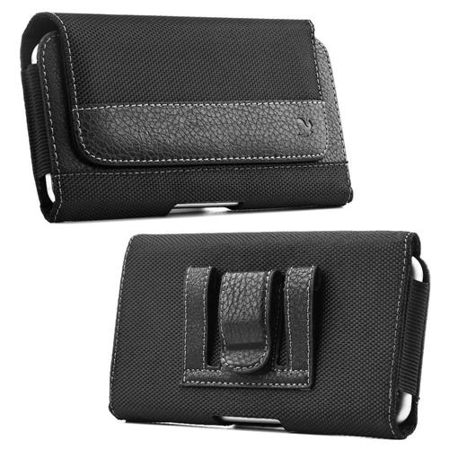 Insten Fitted Soft Shell Case for HTC One M7 - Black