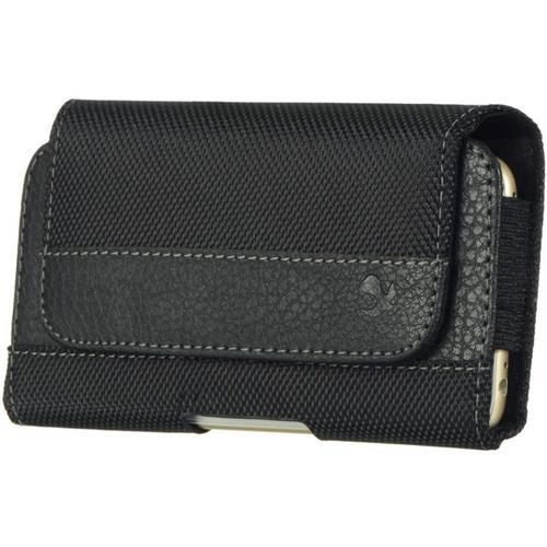 "Insten Folio Leather Fabric Case For Samsung Galaxy Mega 6.3"" GT-I9200, Black"