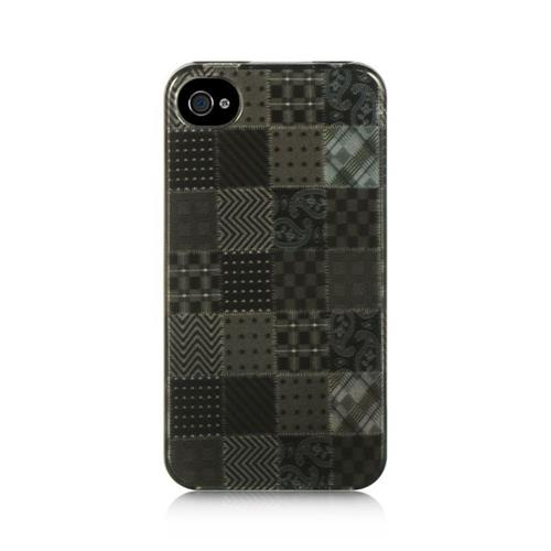 Insten Fitted Hard Shell Case for iPhone 4S;iPhone 4 - Black
