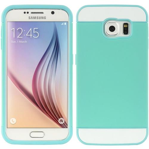 Insten Fitted Soft Shell Case for Samsung Galaxy S6 - Teal