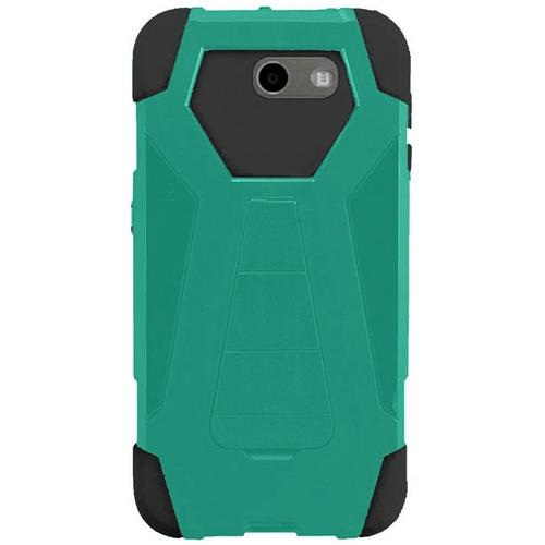Insten Hard Case For Samsung Galaxy Amp Prime 2/Express Prime 2/J3 (2017)/J3 Eclipse, Teal