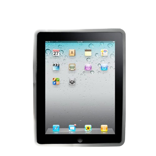 Insten Gel Rubber Case For Apple iPad 2/3/4 - Clear