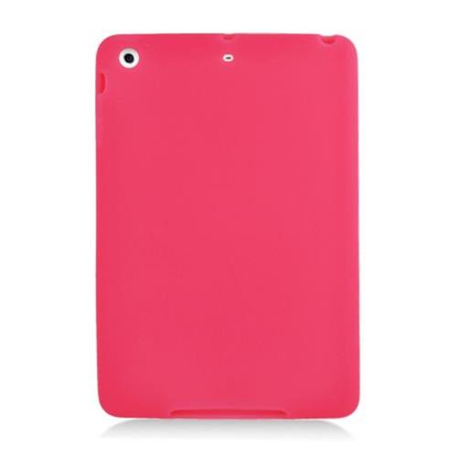 Insten Skin Rubber Cover Case For Apple iPad Mini 2/3, Red