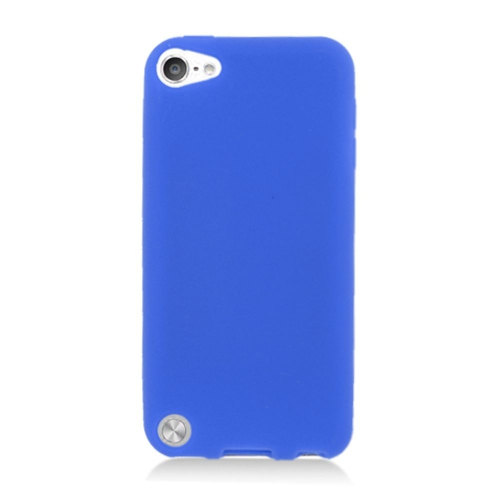 Insten Skin Rubber Case For Apple iPod Touch 5th Gen, Blue