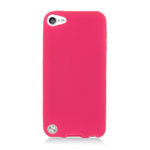 Insten Rubber Cover Case For Apple iPod Touch 5th Gen, Red