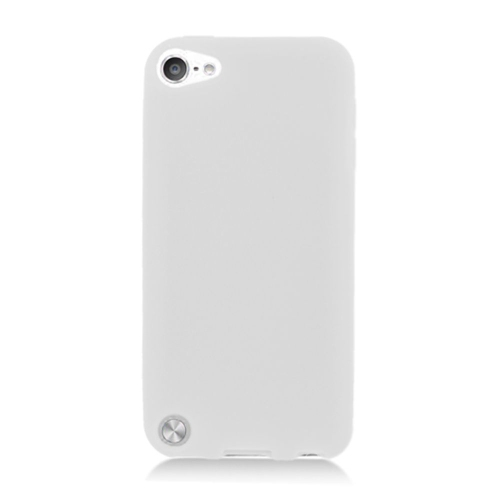 Insten Silicone Rubber Cover Case For Apple iPod Touch 5th Gen, White