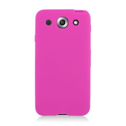 Insten Soft Rubber Cover Case For LG Optimus G Pro E980, Hot Pink
