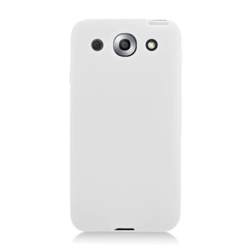 Insten Soft Rubber Cover Case For LG Optimus G Pro E980, White