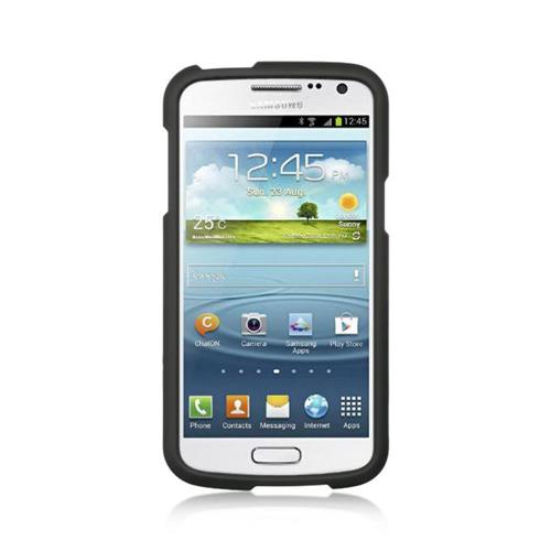Insten Hard Rubber Case For Samsung Galaxy Premier, Black