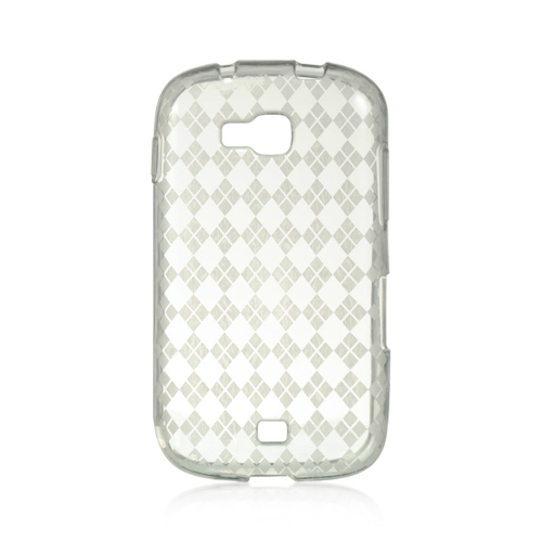 Insten Checker TPU Case For Samsung Galaxy Axiom, Clear