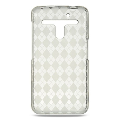 Insten Checker TPU Cover Case For LG Esteem/Revolution, Clear