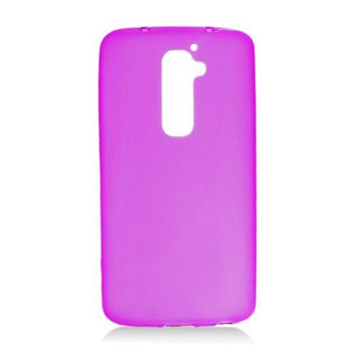 Insten Frosted Gel Case For LG G2 LS980 Sprint, Purple