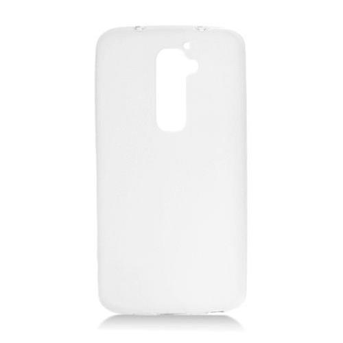 Insten Frosted Gel Cover Case For LG G2 LS980 Sprint, White