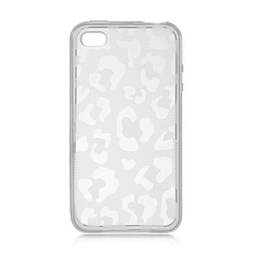 Insten Fitted Soft Shell Case for iPhone 4S;iPhone 4 - Clear