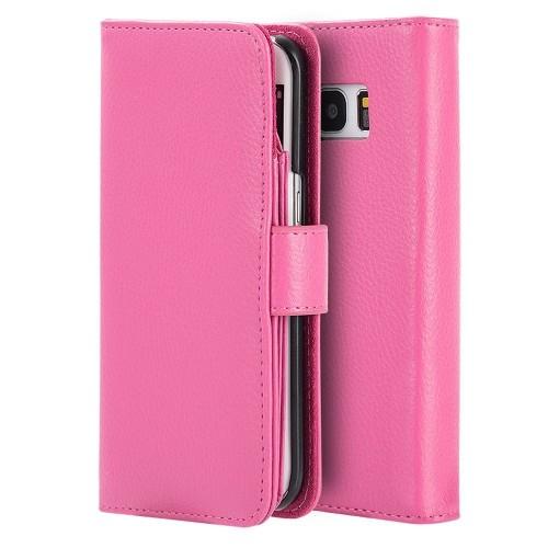 Insten Wallet Case for Samsung Galaxy S7 Edge - Hot Pink