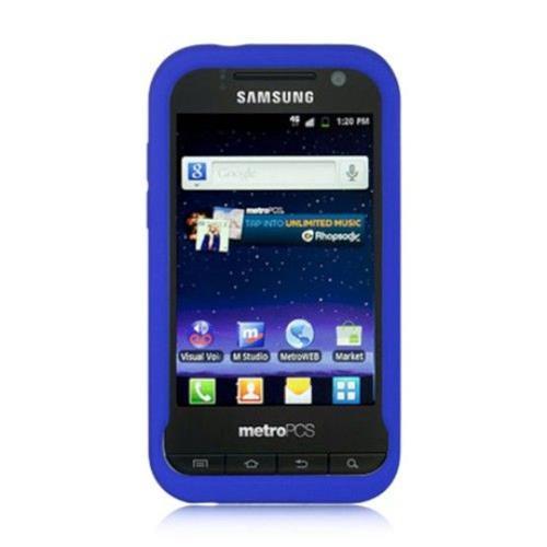 Insten Hard Cover Case For Samsung Galaxy Attain 4G, Blue