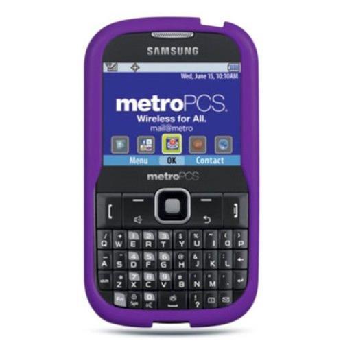 Insten Rubber Case For Samsung Freeform III R380, Purple