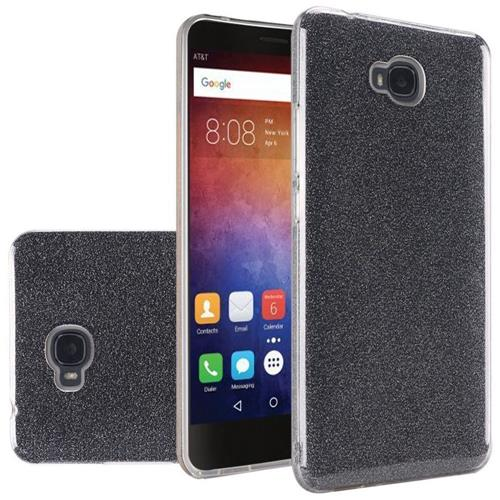 Insten Hard Dual Layer Glitter TPU Cover Case For LG Stylo 2 Plus, Smoke