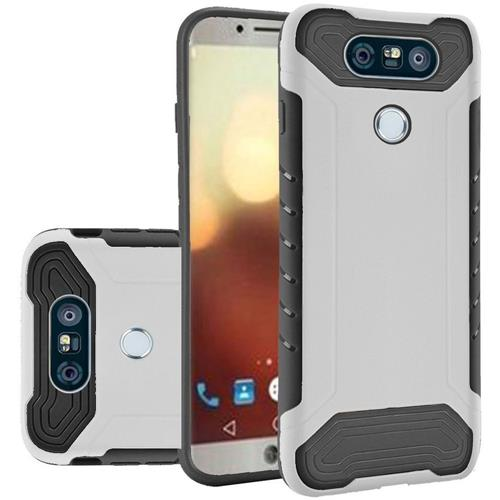 Insten Hard TPU Case For LG G6, White/Black