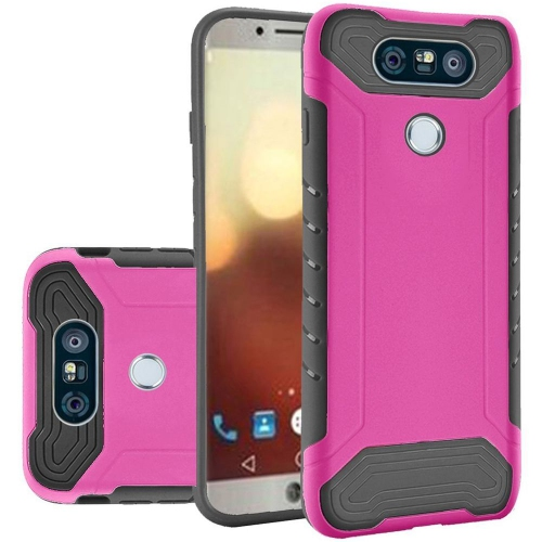 Insten Hard TPU Case For LG G6, Hot Pink/Black